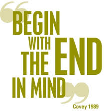 begin with end in mind