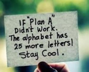 plan a b c etc