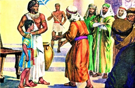 Judah Pleads With Joseph
